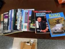 Various Ejaf & Jaguar Journal Magazines