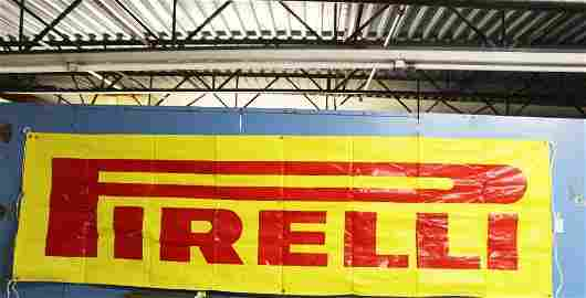 Pirelli Tire Corp Advertising Banner #7469