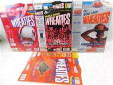 Lot of 4 Wheaties Boxes
