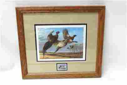 JS Wilson 1986 South Dakota Pheasant Restoration Stamp