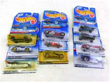 10 Hot Wheels New in Package