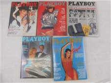 Lot of 5 Playboy Magazines from 1979