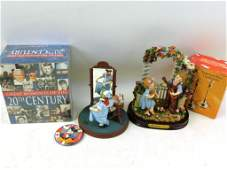 Misc. Lot 20th Century Box Set, Mickey Mouse Button,