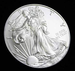 2018 BU American Silver Eagle 1 oz Silver Round