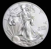 2015 BU American Silver Eagle 1 Oz Silver Round