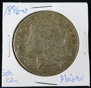 1896-O Morgan Dollar 90% Silver
