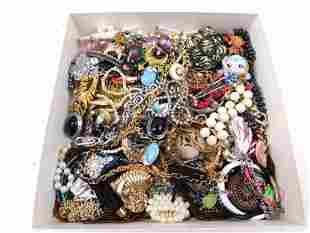 Lot of Costume Jewelry incl Rhinestone