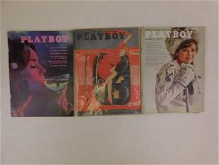 Lot of Playboy Magazines from 1963