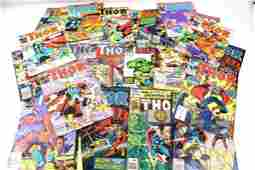 Lot of Marvel The Mighty Thor Comic Books