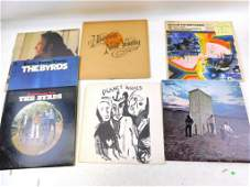 Lot of 6 Vinyl LP Records Including The Who, Neil