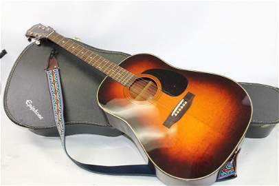 Epiphone Acoustic Guitar Model PR-650-ASB