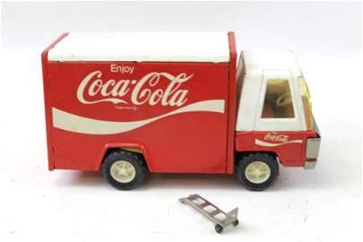 Vintage Toy Coca Cola Delivery Truck