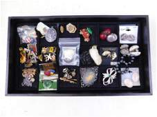 Lot of Costume Jewelry incl Pins , Earrings , etc