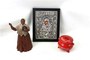 Collectibles Lot incl Sojourner Truth Figurine , Vtg