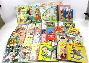 Lot of Mostly Vintage Little Golden Books Plus Some