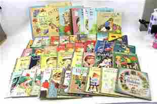 Vintage Children's Books incl Little Golden Books and