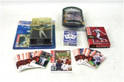 Sports Lot incl Baseball Cards , Starting Lineup Action