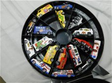 Lot of 18 Hot Wheels , Nice Condition, Super Rally Case