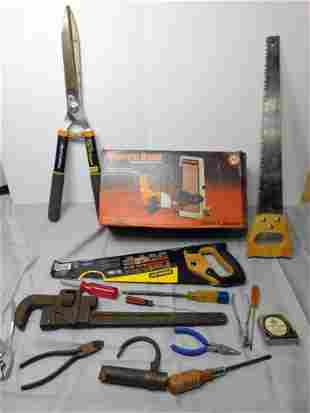 Tool Lot incl Black and Decker Sharp and Sand Belt