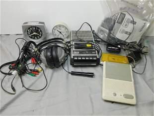 Misc Electronics Lot incl Vtec Telephone , Radio Shake
