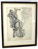 Saul Raskin ( 1878-1966) Listed NY Artist 1965 Original