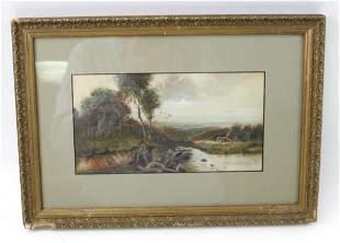 Original Watercolor Signed John Francis Murphy