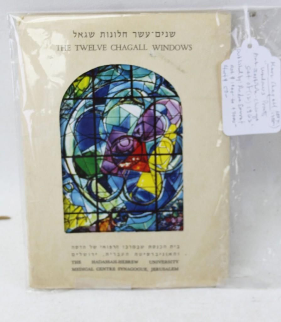 "Marc Chagall ""Windows"" Prints , Art Institute of"