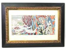 """In the Style of Albert Gleizes (1881-1953) , """" Listed"""