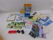 Vintage Ephemera Lot incl Postcards, Slides,