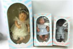 3 Berjusa & Diana Creacion Baby Dolls New in Box