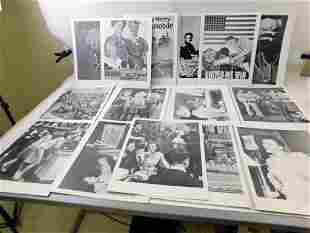 Ephemera Lot incl Photos and Posters incl Black and