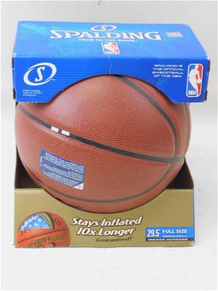 Spalding Full Size NBA Basketball Composite Leather New
