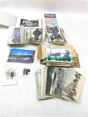 Lot of Vintage Ephemera incl Postcards, Photos , etc