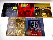 Lot of 5 Vinyl LP Records including Jethro Tull The