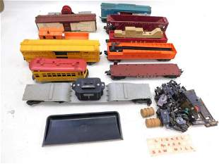 Lot of Lionel Train Cars 11 Total