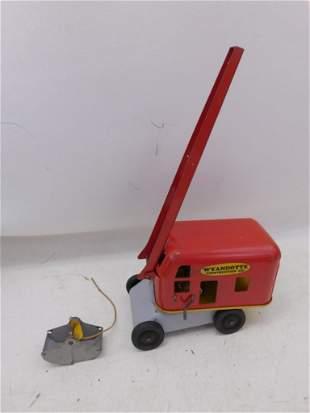 GI Wyandoite Construction Co Metal Toy Steam Shovel