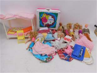 Large Barbie and other Dolls Lot, etc.
