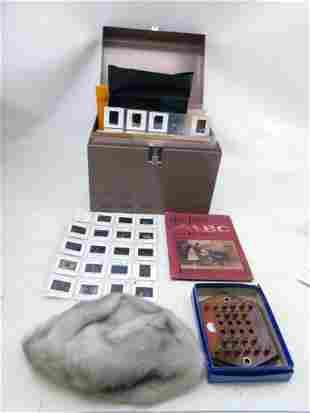 Metal Box of Slides , Highway Man Game , Darlings Bible