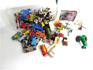 Toy Cars and Vehicles Lot incl Mercedes Benz Semi Truck