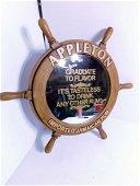Appleton Jamaican Rum Ships Wheel Mirror