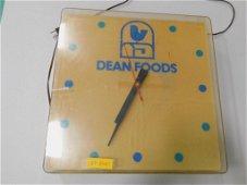 Dean Foods Advertising Clock