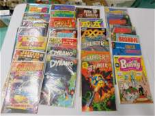 Vintage Comic Books incl Thunder Agents , Boris Karloff