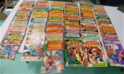 50 Vintage Comic Books incl Fantastic Four , Mr Miracle