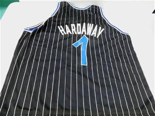 Tim Hardaway Basketball Jersey Orlando Magic Champion