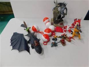 Digimon Action Figures , Pokemon , Godzilla Electronic