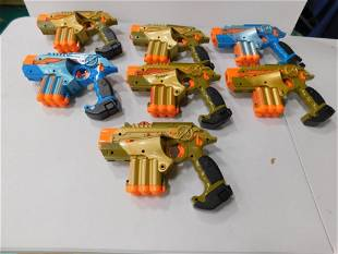 Lot of Nerf and Tiger Lazer Tag Guns