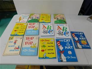 13 Dr Seuss Books incl The Foot Book, Hop on Pop , etc