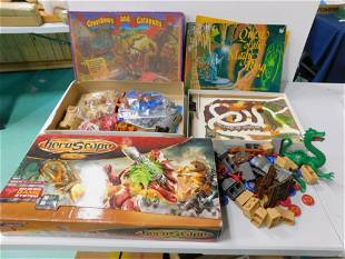 Game and Toy Lot incl Crossbows and Catapults , Quest