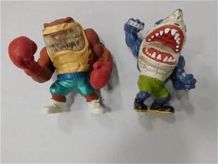 2 Street Sharks Action Figures