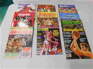 11 Basketball Magazines , 1 with Michael Jordan on the